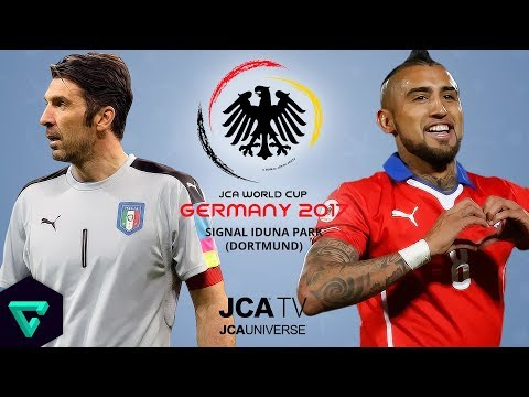 Italy vs. Chile | Group B | 2017 JCA World Cup Germany | PES 2017