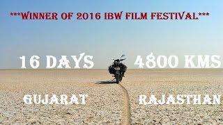 GoPro : Gujarat - Rajasthan Bike Ride 16 days - 4800 Km