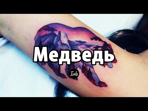 Тату Медведь - значение. История татуировки, эскизы и фото.