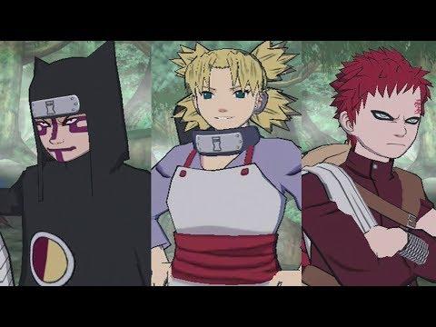 Let's Play Naruto: Gekitou Ninja Taisen 4 (Part 3) - The Sound and the Sand