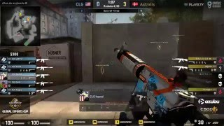 Game Show Global eSports Cup - Astralis vs. CLG (Mapa 1 - Overpass) - Disputa do 3º Lugar
