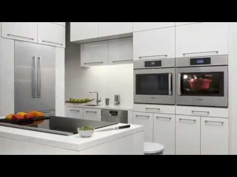 Bosch Kitchen Movable Island With Seating The Clean European Design Youtube
