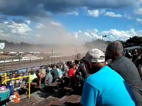World of Outlaw late model feature at Lernerville Speedway, June 24, 2017