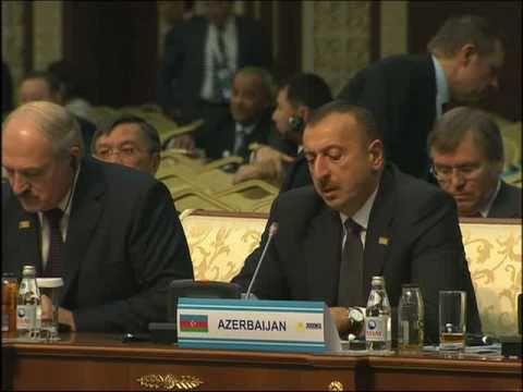Speech by Ilham Aliyev at the VII OSCE Summit. 01.12.2010