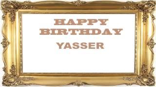 Yasser   Birthday Postcards & Postales - Happy Birthday