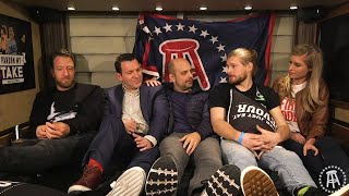 Barstool Casting Couch Featuring Ian Rapaport and Mike Garafolo Live From the Super Bowl