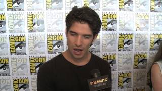 Tyler Posey - Sex with Allison & Alpha or Omega - Teen Wolf - Comic-Con 2012