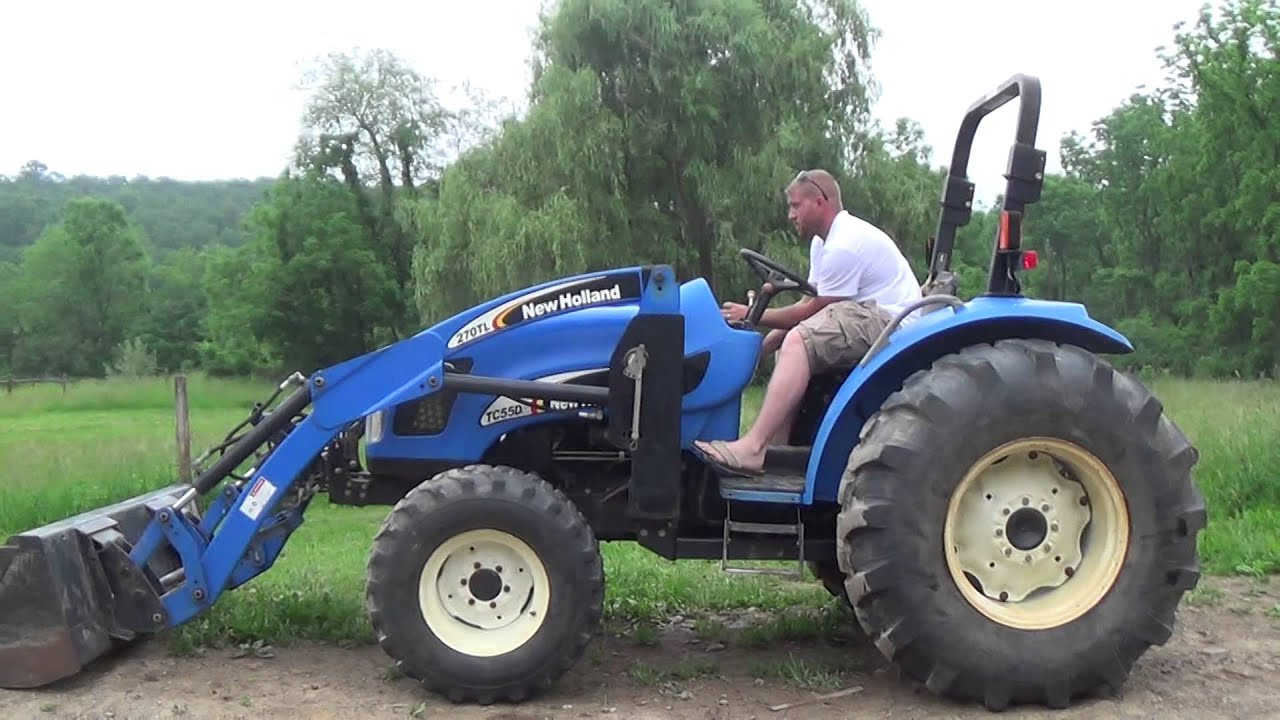 New Holland Tractor People : New holland tc da youtube