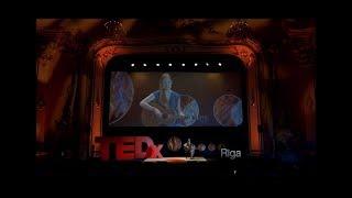 "Alise Joste at TEDxRiga ""Climbing my mountain of fear"" music, LIFE & failure"
