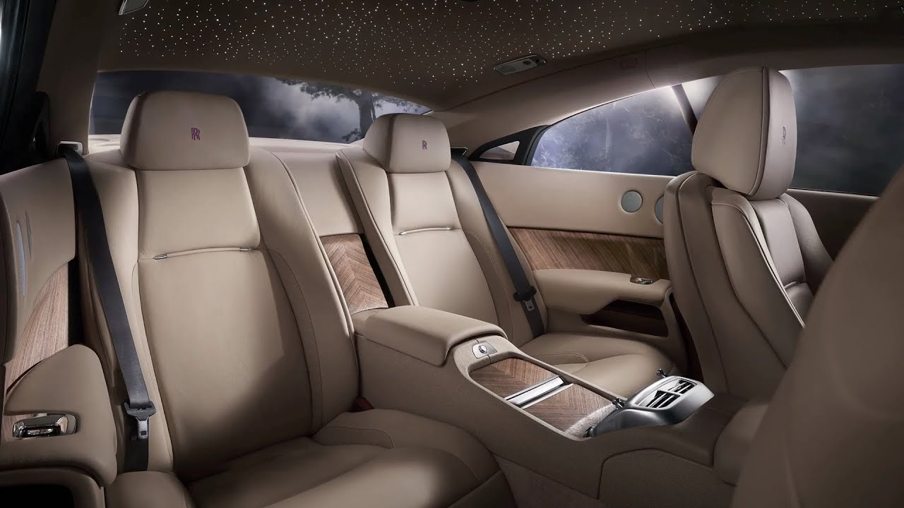 2014 RollsRoyce Wraith INTERIOR  YouTube