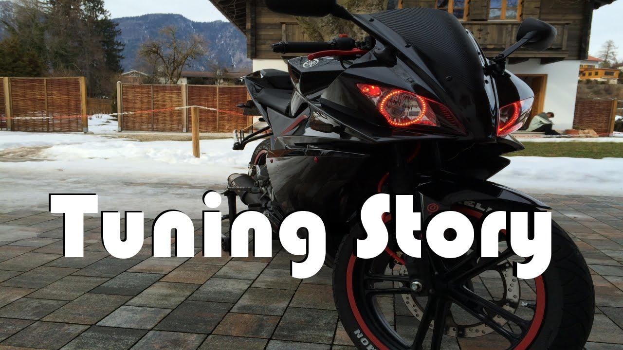 Yamaha Yzfr 125 Tuning Story 2016 HD