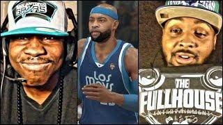 NBA 2k14 PS4 Gameplay - FaceCam QJB vs AiiRxJONES Pt. 1 Retro Vince Carter