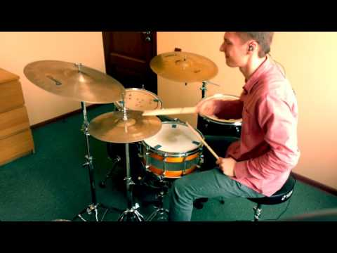 Glassjaw - The Gillette Cavalcade Of Sports (drum cover/play through)
