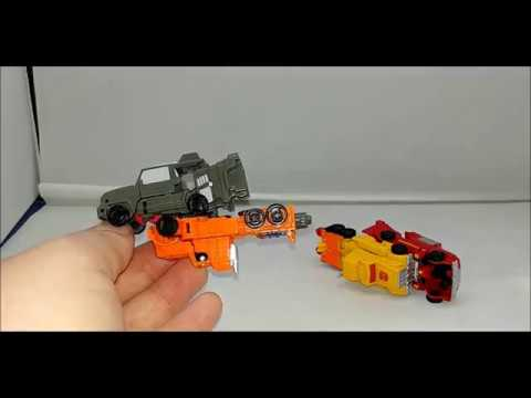 REVIEW - Off Road Patrol Transformers Siege Micromaster Set