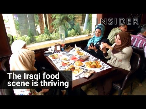 The Iraq food scene is thriving