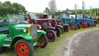 Vintage Tractor Meeting with Lanz Bulldog and Steam Engines