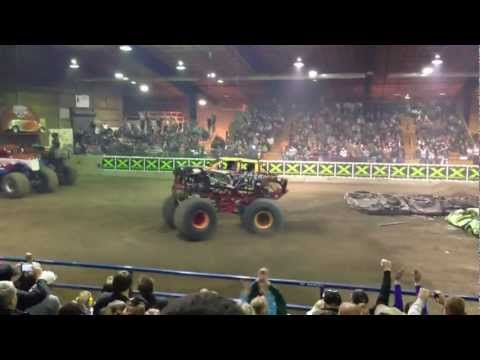Rockstar Monster Truck takes WiN!