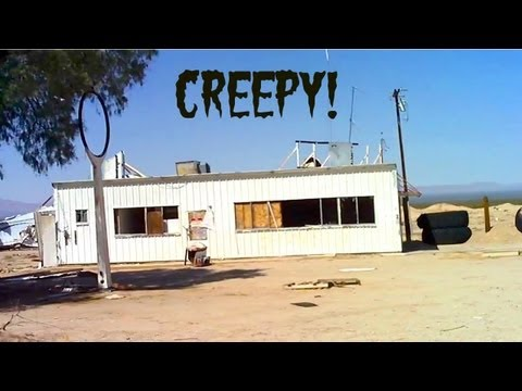 Abandoned Creepy Places, Towns Cars & Trucks - Route 66 to Area 51 Nevada /California Desert