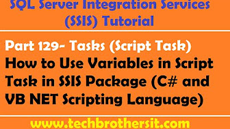 Script Task Examples Demos Real Time Scenarios in SSIS