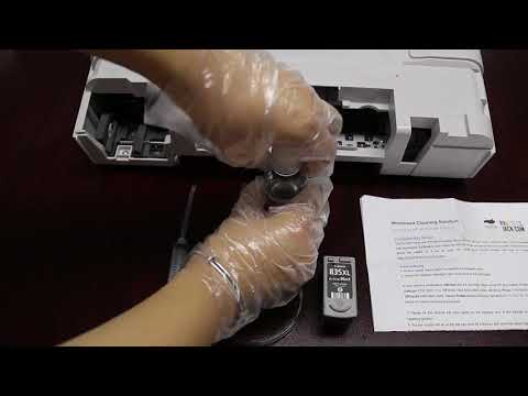 How to clean HP and Canon Printhead