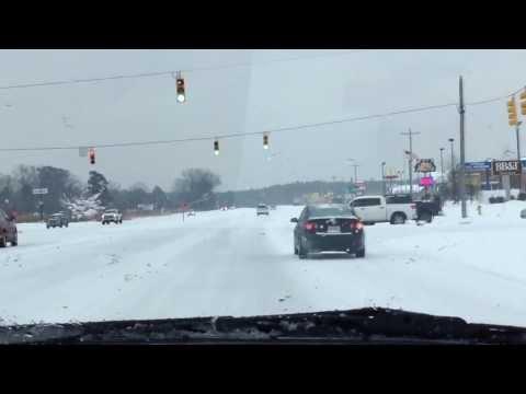 Fayetteville, North Carolina Snow Day 2