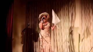 Pat sing A World War One Medley Xmas Party 2014