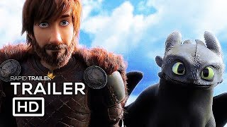 HOW TO TRAIN YOUR DRAGON 3 Official Trailer (2019) Cate Blanchett, The Hidden World Animated Movie