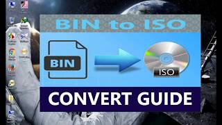How to convert bin to iso image file with PowerISO