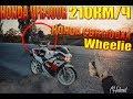 Honda VFR400 210??/?-CBR1100XX Wheelie