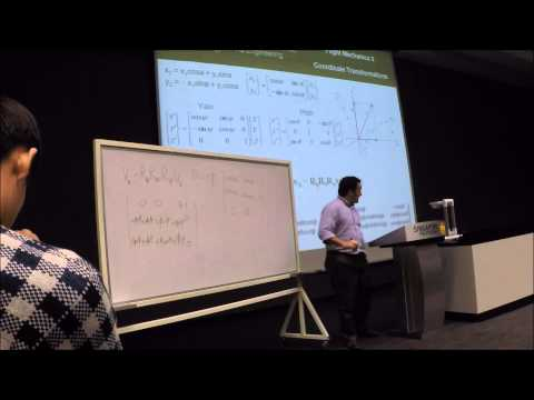 Flight Mechanics - Coordinates Transformation