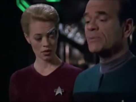 Practicing For Karaoke-The Doctor And Seven Of Nine-
