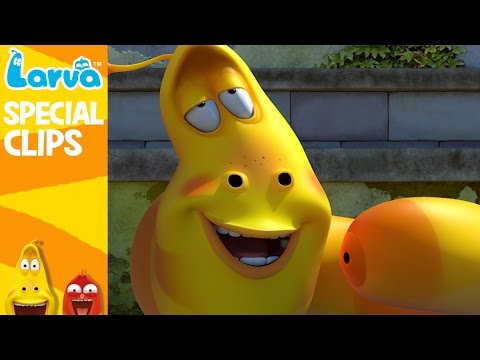[Official] LARVA Funny Collection Part1 -  Funny Animation Compilation