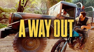 Auf der Flucht 🎮 A WAY OUT #002