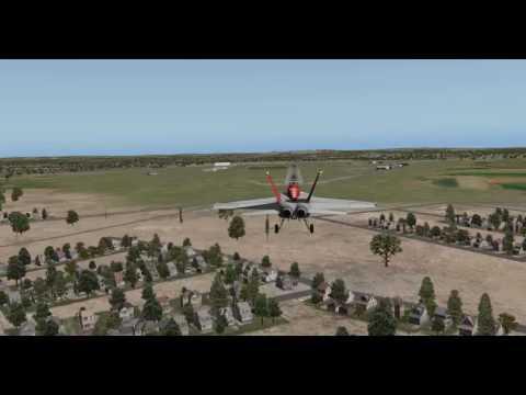 F-18 RAF Northolt