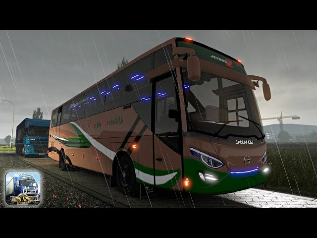 ETS 2 BUS SIMULATOR INDONESIA #2 | TravelerBase | Traveling