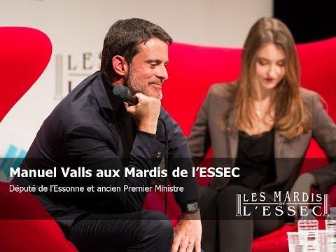Manuel Valls aux Mardis de l'ESSEC