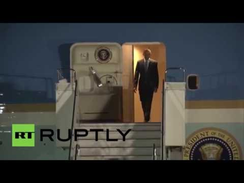 Japan: Obama arrives in Ise-Shima ahead of G7 Summit