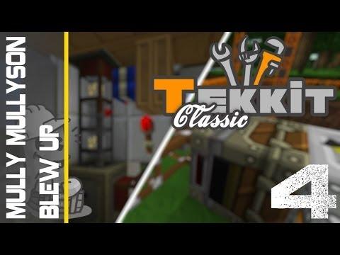 Minecraft Tekkit Episode 4 - Mully Mullyson Blew Up