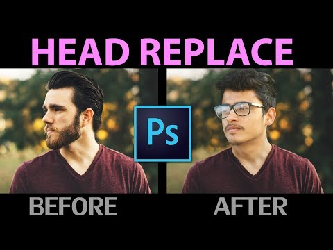 How to Swap/Change Head in Adobe Photoshop