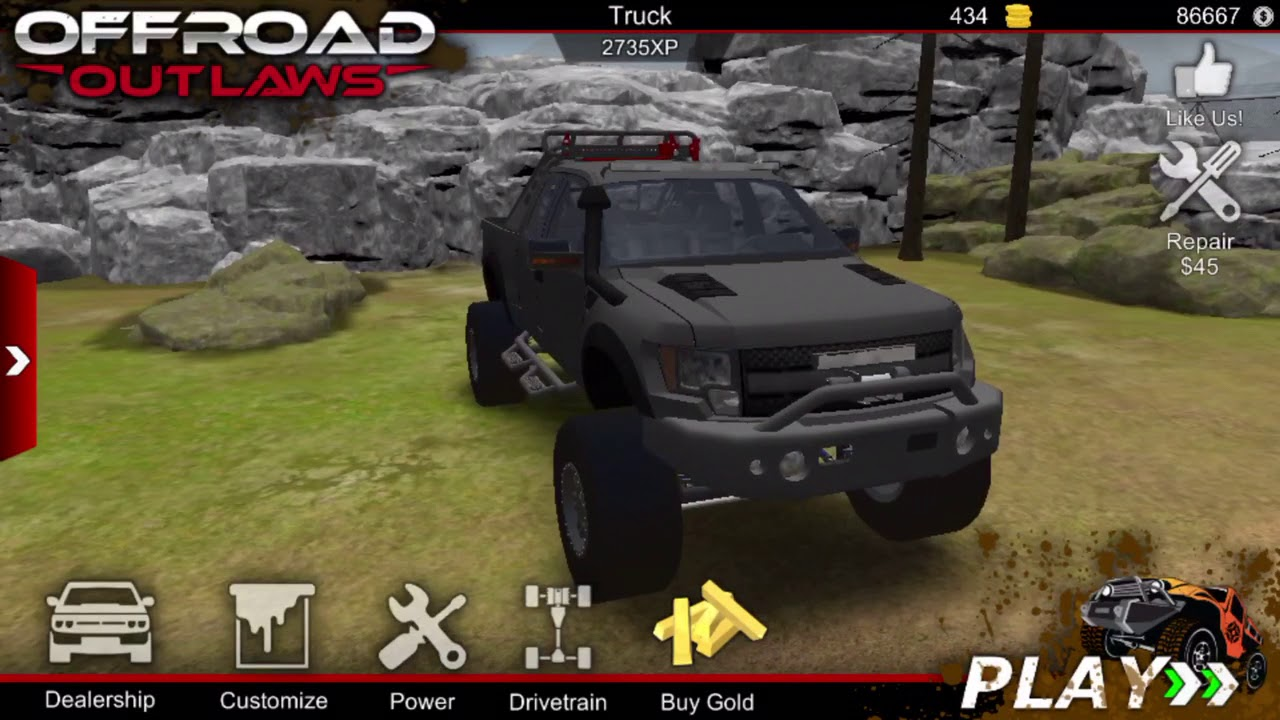 offroad outlaws hack apk 2018