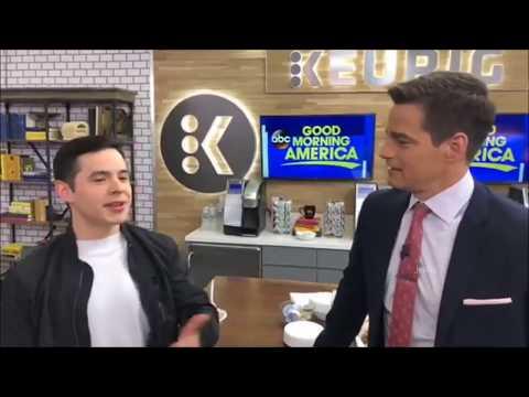 HD David Archuleta Backstage FB Live @ GMA (23 Apr 2018)