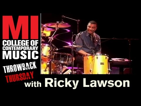Ricky Lawson Throwback Thursday From the MI Vault 8/9/2007