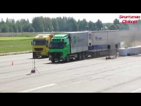 Truck Dragrace In Kauhava Airport Finland  27.7.2019