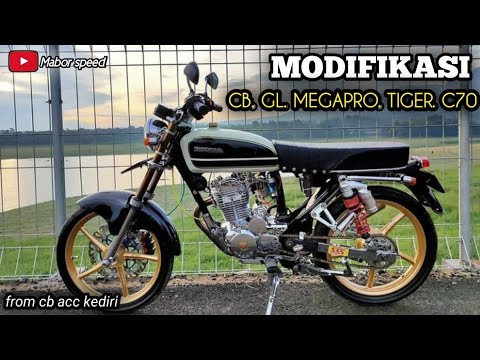 MODIFIKASI CB GL MP TIGER C70  Part 5