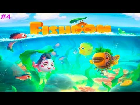 Fishdom Аквариум Мечты #4 (уровни 31-37) Новые рыбки в Обновлении