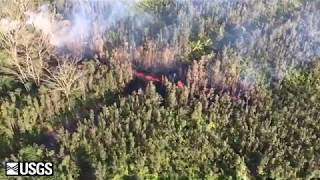 Fissure 1 Hawaii Volcano - 05/03/2018