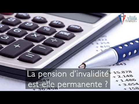 Calendrier Paiement Pension Invalidite 2020 Cpam.Pension D Invalidite Conditions Administratives Et Medicales