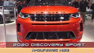 2020 Discovery Sport R Dynamic HSE   Exterior And  Nterior    AA Frankfurt 2019