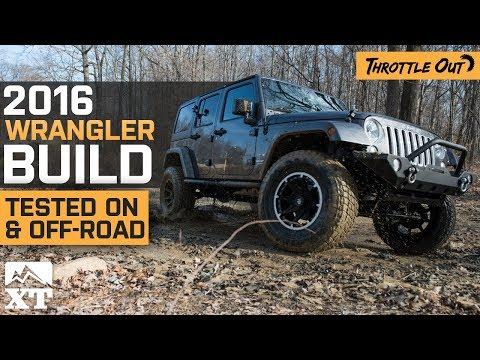 Jeep Wrangler JK Built For On-Road, Tested Off-Road    How