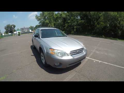 4K Review 2007 Subaru Outback AWD 5-Speed Manual Virtual Test-Drive & Walk-around